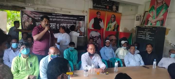 মোংলায় থানা আ'লীগের সাংগঠনিক'র মৃত্যুতে দোয়া ও মিলাদ মাহফিল