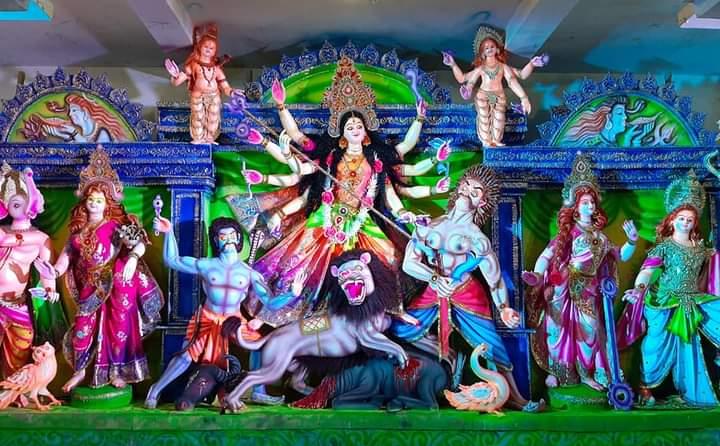 শারদীয় দুর্গোৎসব: আগামীকাল শুভ মহালয়া,দেবীপক্ষ শুরু কাল